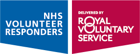 NHS Volunteer Responders logo.